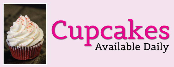 Cupcakes Available Daily